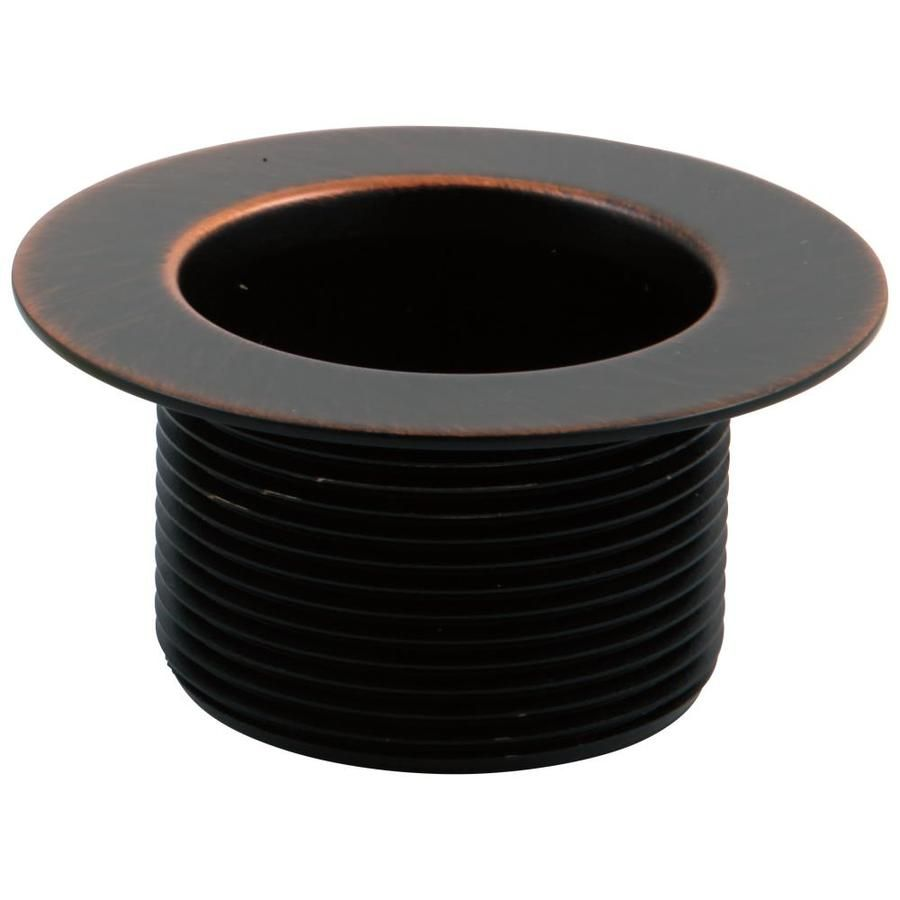 Delta 1 5 In Oil Rubbed Bronze Lift And Turn Drain With Rp16687rb