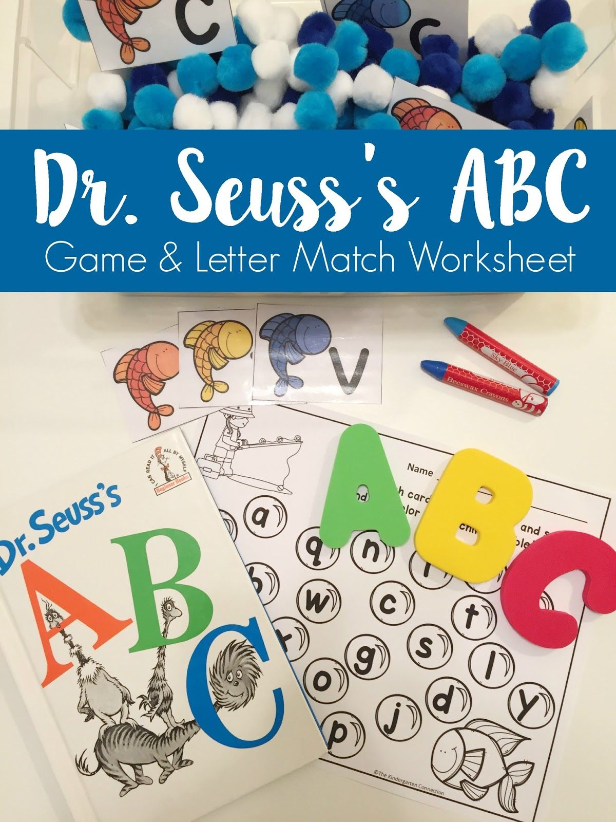 Dr Seuss S Abc Game And Letter Match