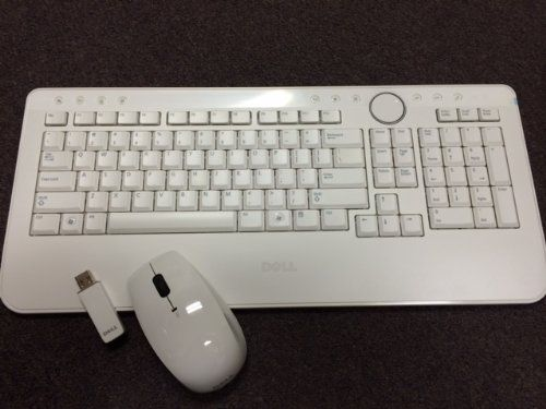e286fc6143f Introducing Dell Wireless US Keyboard and Mouse with USB Receiver White PN  X862M. Great product and follow us for more updates!