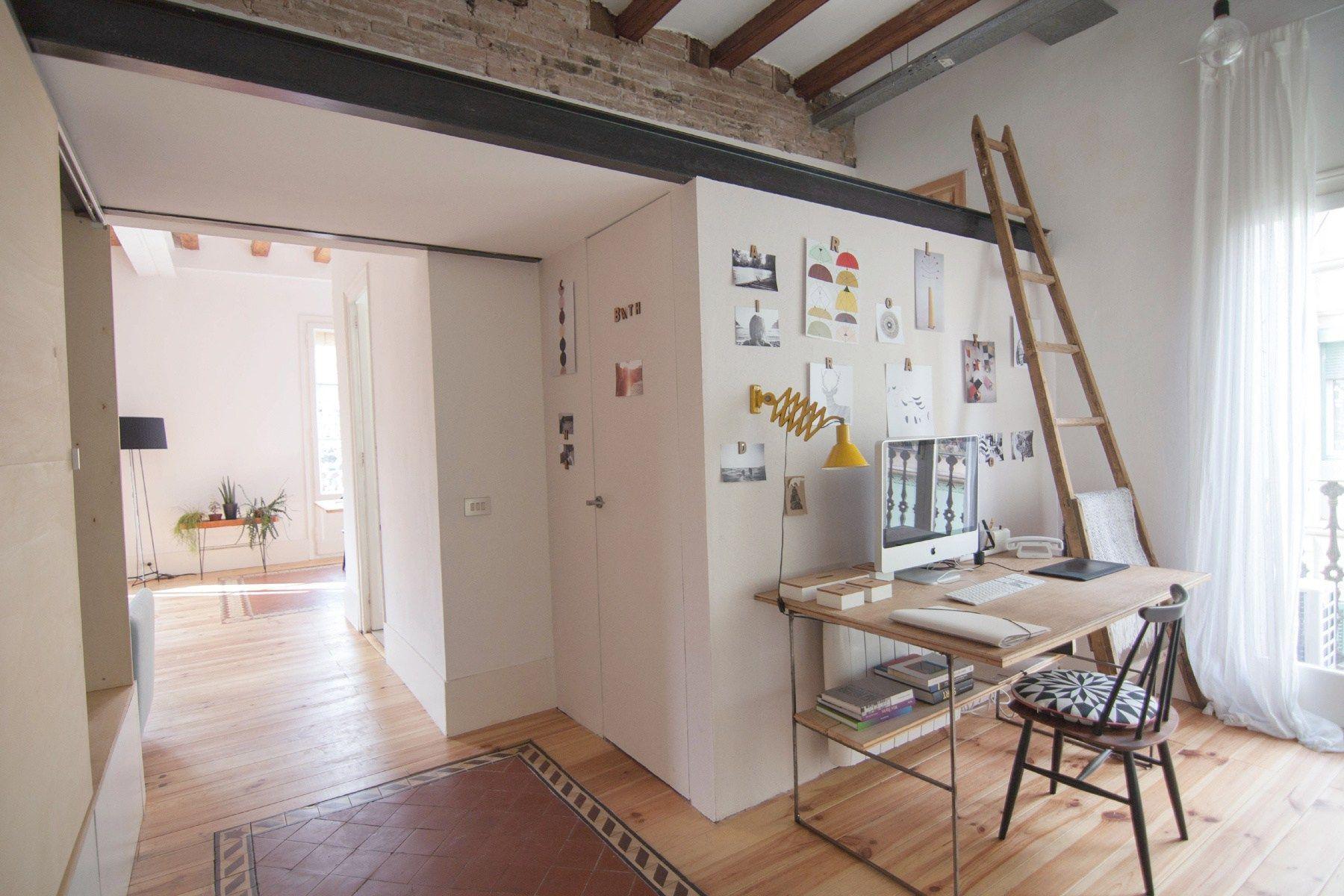 vintage interiores espacios pequeños inspiración muebles ikea estilo ...