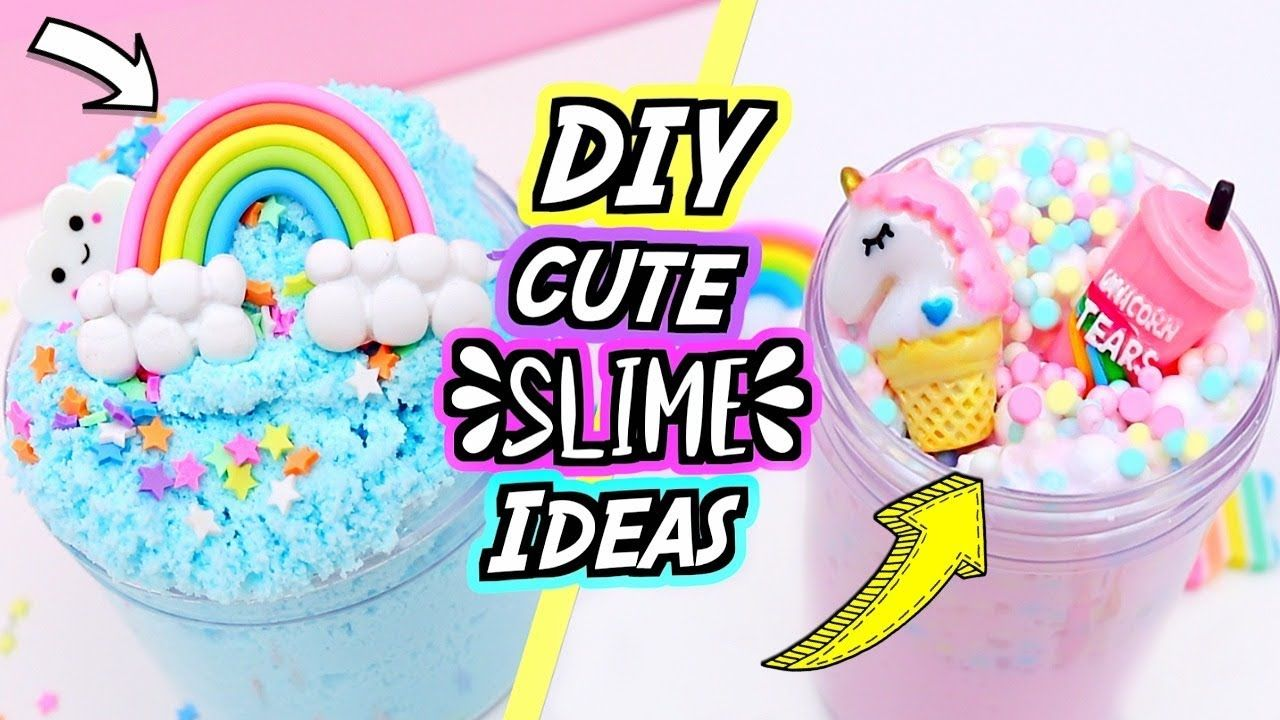 Diy Slime Recipes For Beginners How To Make The Cutest Slimes