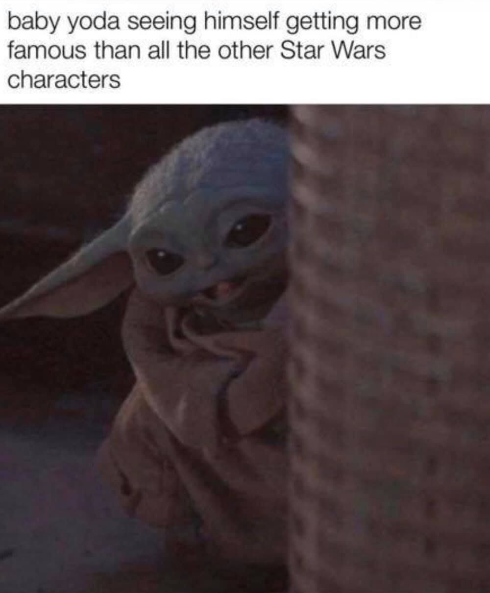 Pin By Sophia Stein On Funny Star Wars Memes Yoda Star Wars Characters