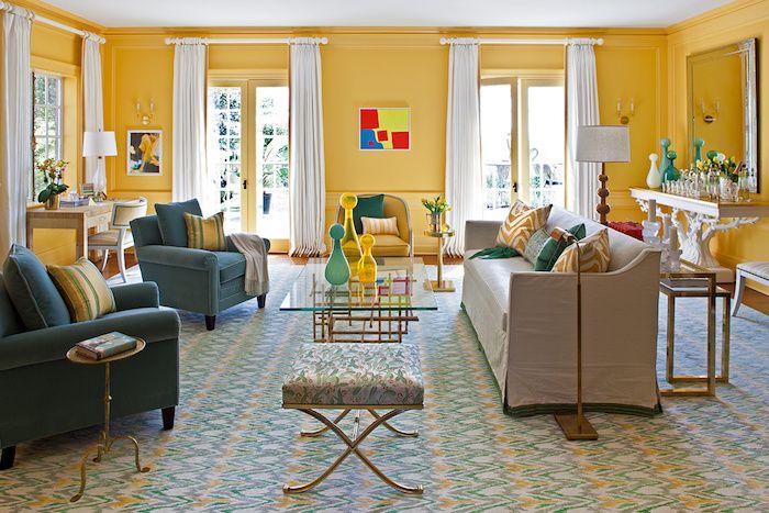 1001 Ideen Für Wohnzimmer Wandfarbe 2018 Tapeten Pinterest