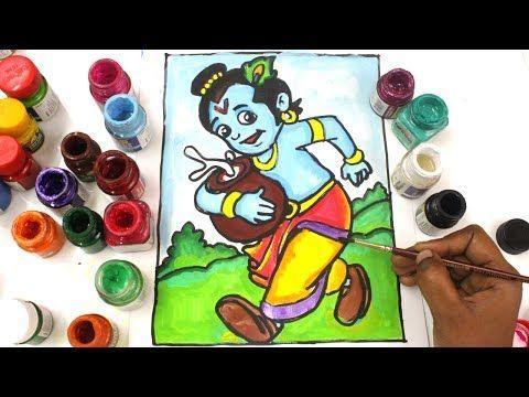 coloring krishna chhota bheem krishna speed coloring chhota bheem