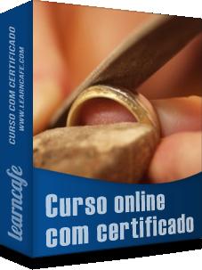 576576b5599 curso ourives - O curso aborda  material usado na fabricação de jóias