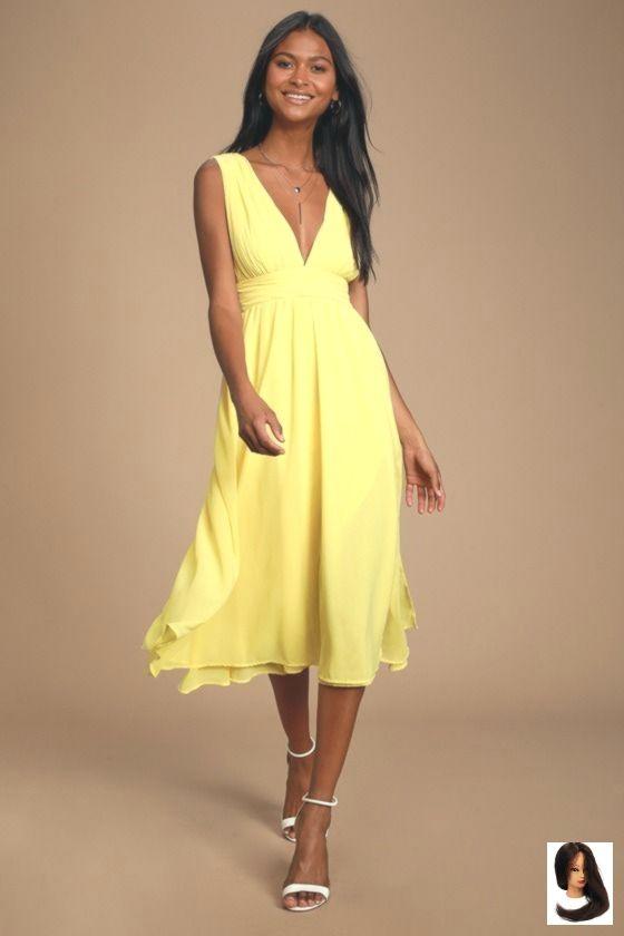 #Dahlia #Divine #Dress #Große #large #Lulus #Midi #Polyester #Yellow #yellow Midi Skirt Lulus | Divine Dahlia Yellow Midi Dress | Size Large | 100% Polyester        Lulus | Divine Dahlia Yellow Midi Dress | Größe X-Large | 100% Polyester #cocktailattireforwomen