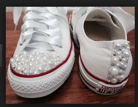 295bc809c793 Bedazzled Converse
