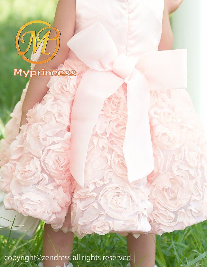 69037e6b66db9 子供ドレス 結婚式 ベビードレス 80 90 95フラワーガール 。 新作 子供 ...
