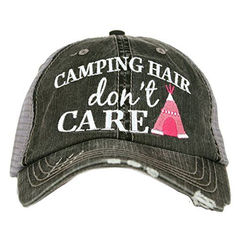157ea494a614c New Katydid Camping Hair Don t Care Women s Trucker Hat.   19.95 - 22.95   from top store nanaclothing