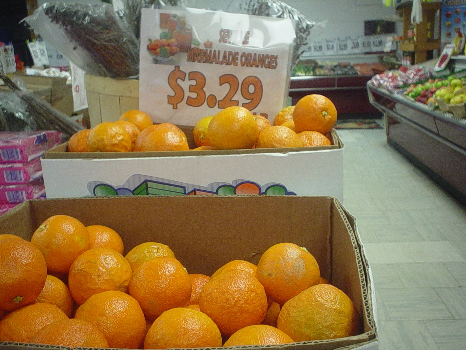 Seville oranges are back in stock! While supplies last - pick up yours today for making that perfect marmalade at home!