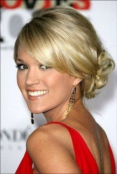 Front View Wedding Hair Low Side Bun Prom Hairstyles For Long Hair Hairdo Wedding Short Hair Updo