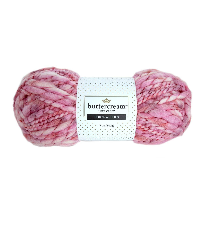 Buttercream Thick & Thin Yarn   Jo-Ann   Yarns I Love!   Pinterest