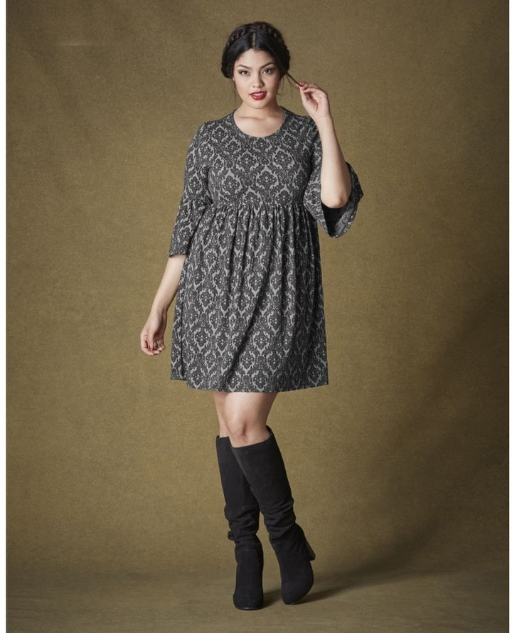 Plus Size Babydoll Dress Plus Size Fashion Pinterest Curvy