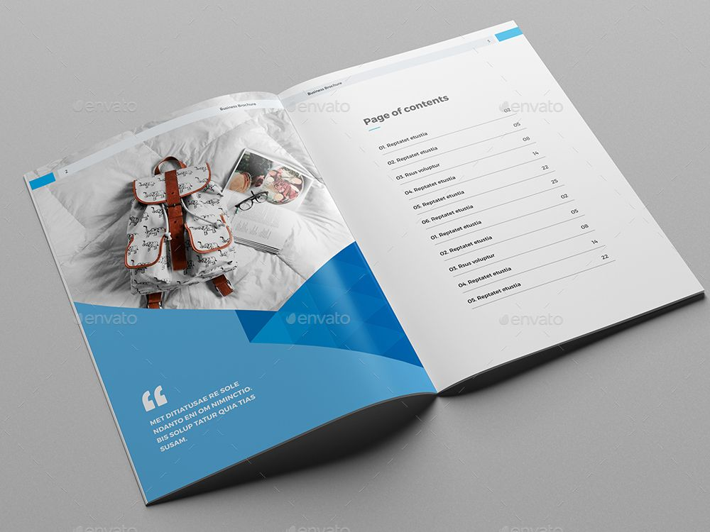 Corporate Brochure - Company Profile Typography Pinterest - company profile