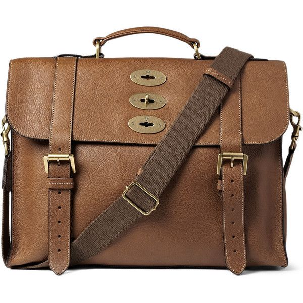 262b20373d Mulberry Ted Convertible Leather Messenger Bag found on Polyvore featuring  polyvore