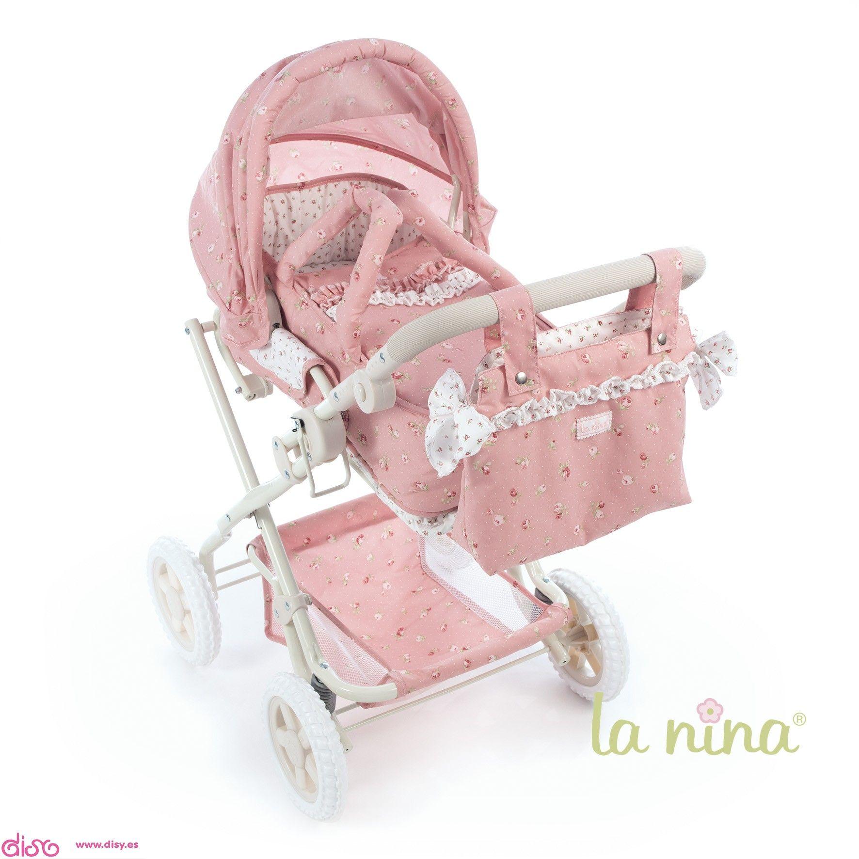 5e9c3b828 #carritosdemuñecas Cochecitos para muñecas La nina - Cuco grande (2 en 1)  con