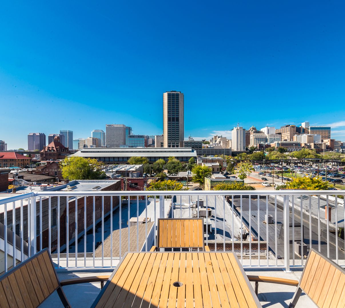 Rooftop view #rva