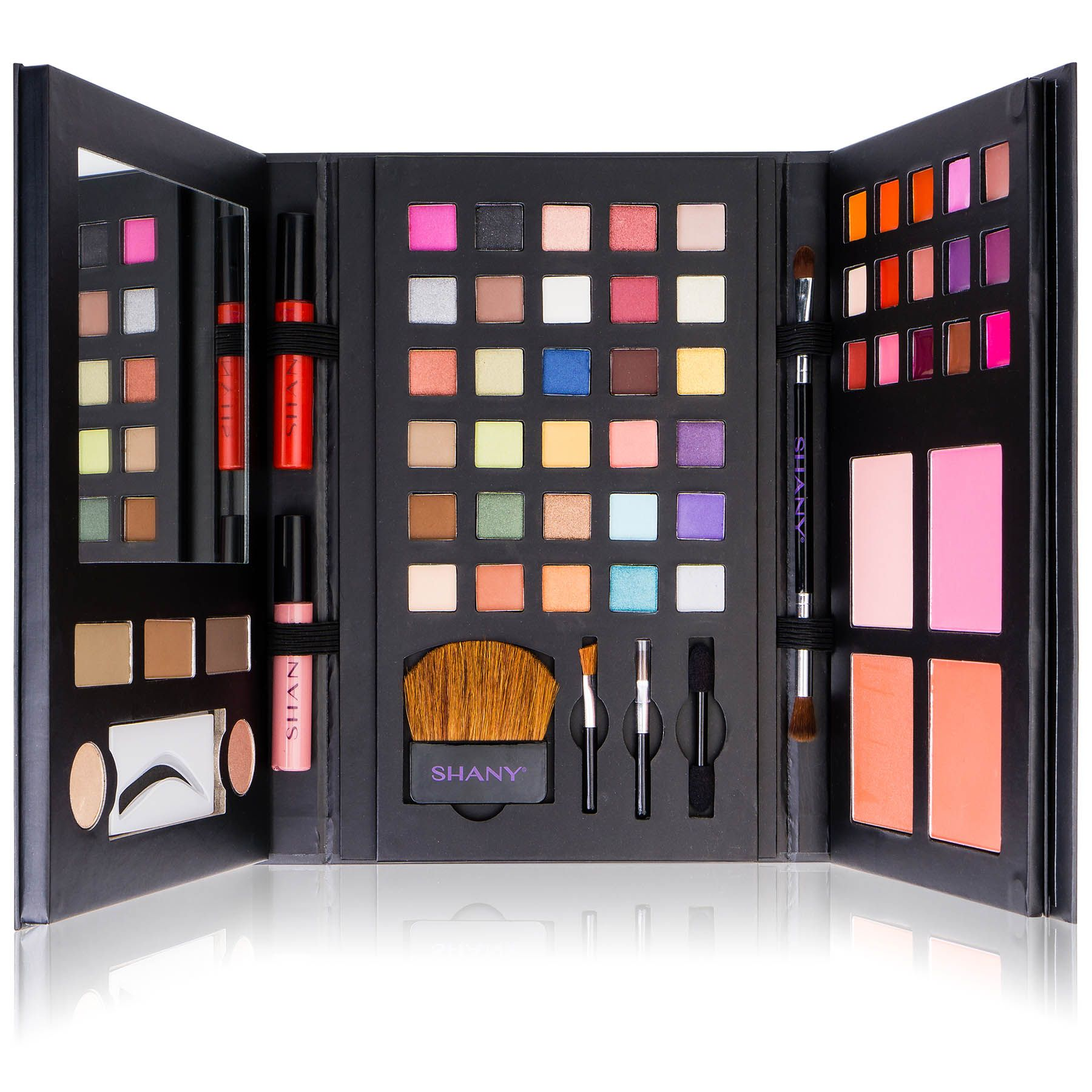 SHANY Luxe Book Makeup Set All In One Travel Cosmetics