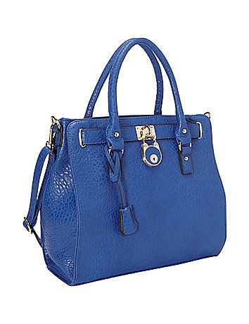 Professional Looking Satchel Handbag That Will Really Turn Heads At The Office Zipper Closure