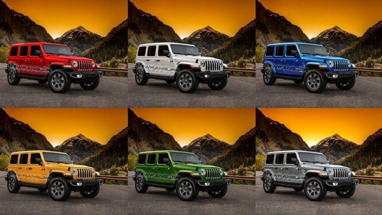 Jeep Wrangler 2020 Colors New Engine Di 2020