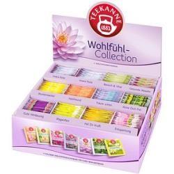 Teekanne Wohlfühl-Collection Box Tee 11 verschiedene Sorten, Gesamtinhalt: 180 Beutel Teekanne Teema #teapotset
