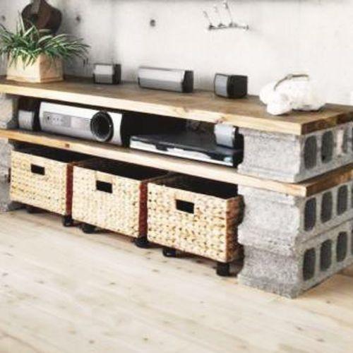 Mieux que les DIY palettes voici 10 do it avec des briques Briques
