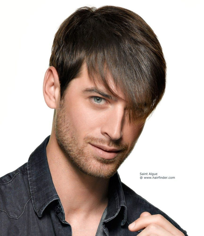 Trending mens short hairstyles long bangs hairstyles haircuts