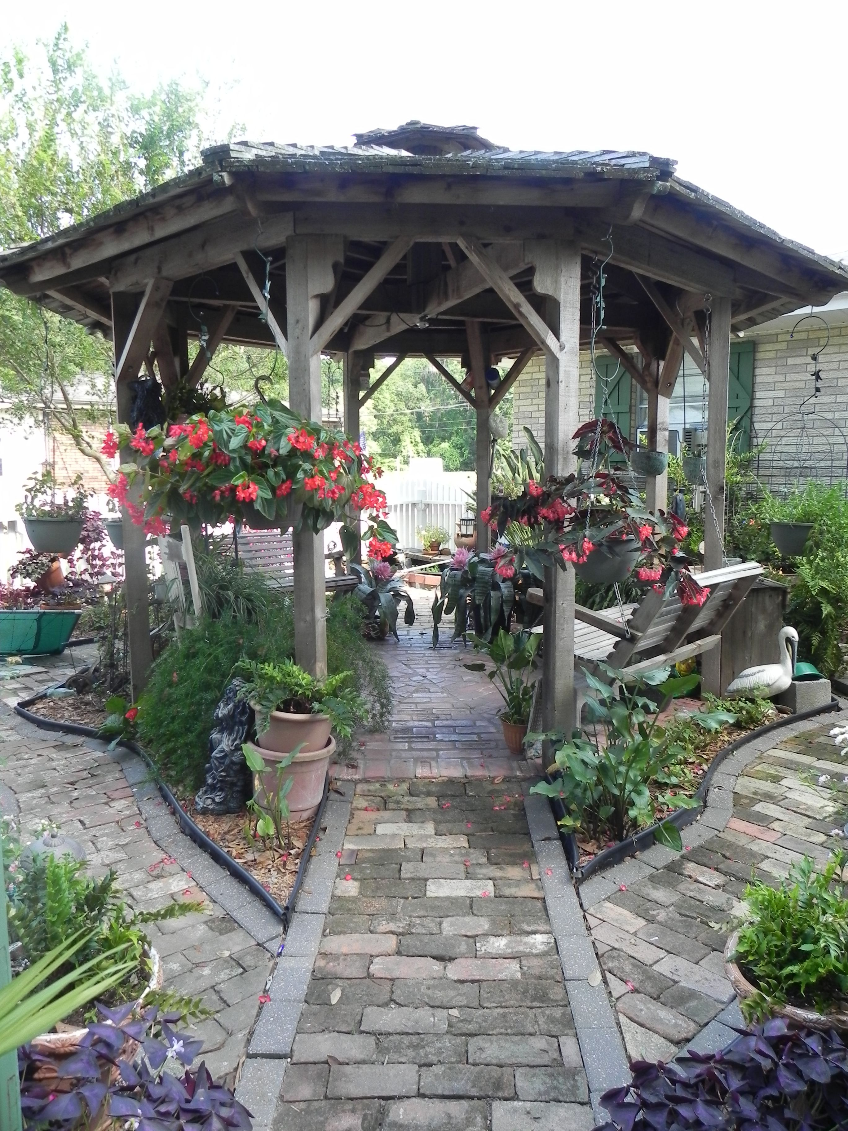 secret garden gazebo gardening pinterest garden gazebo and