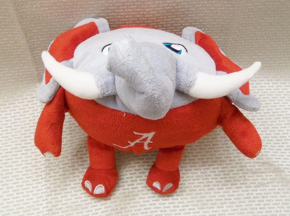 University Of Alabama Plush Elephant Football Orbiez Brand