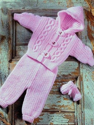 RETRO BABY'S KNITTING PATTERNS - PDFs £1.45 NO POSTAGE ...