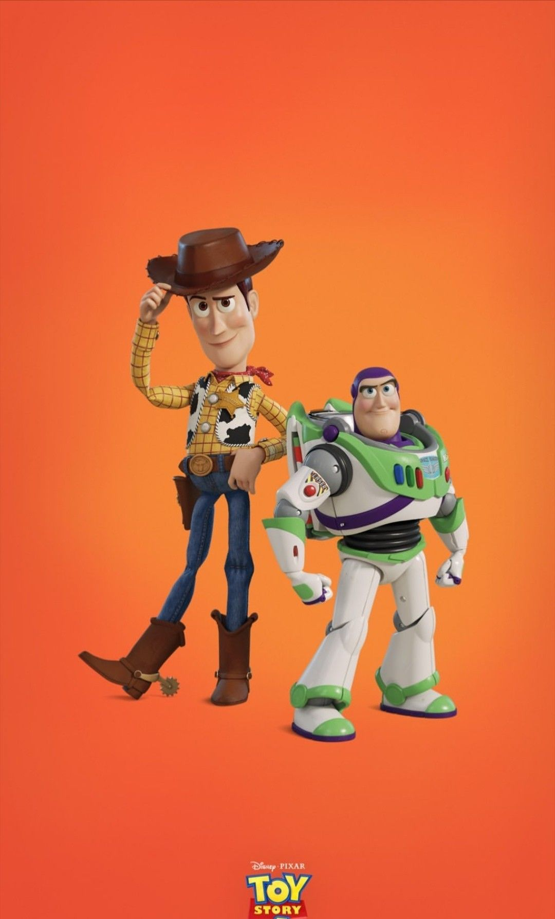Woody And Buzz Toy Story 4 C 2019 Pixar Animation Studios Walt Disney Studios Woody Toy Story Cute Cartoon Wallpapers Toy Story Movie