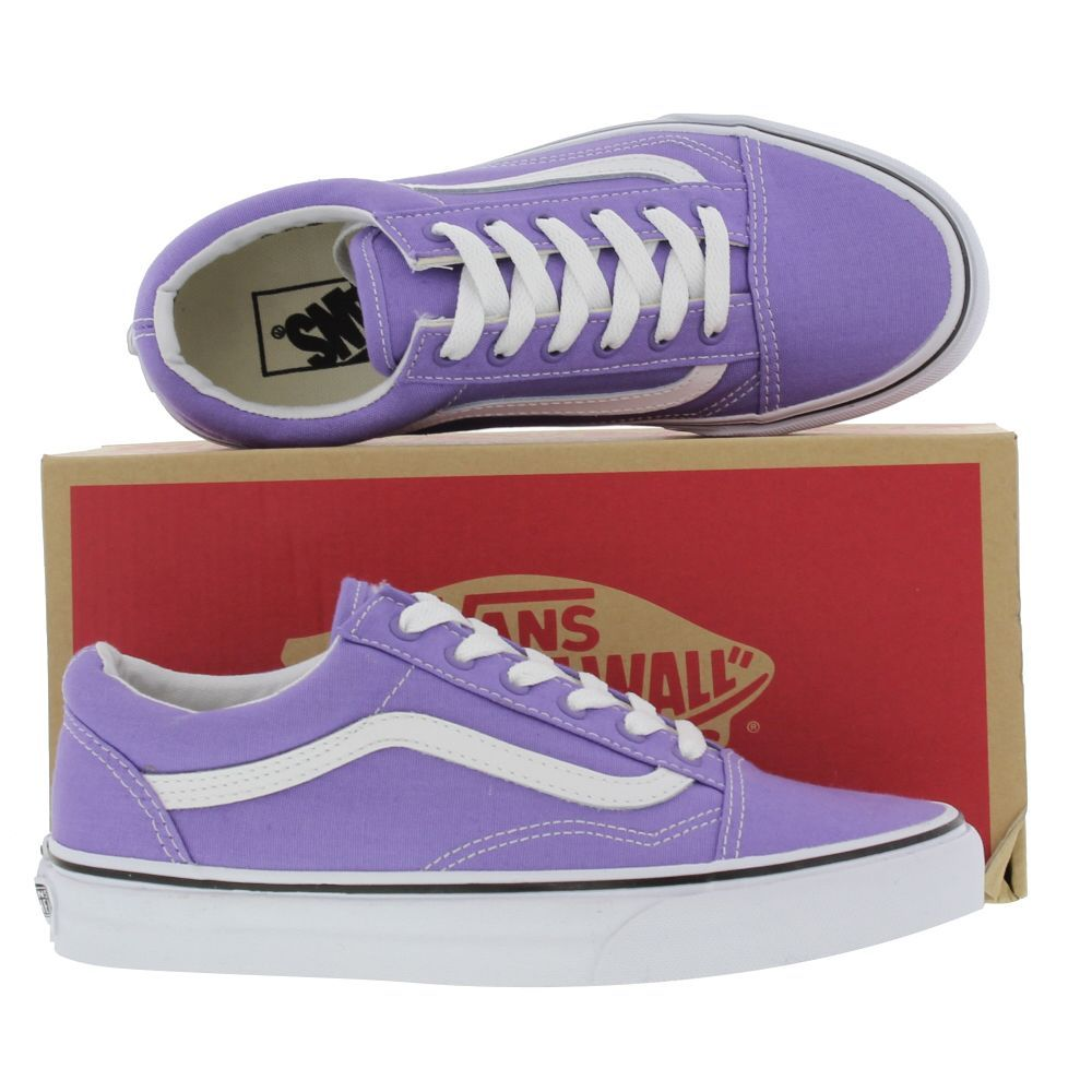 vans shoes womens old skool aster purple true white 16349