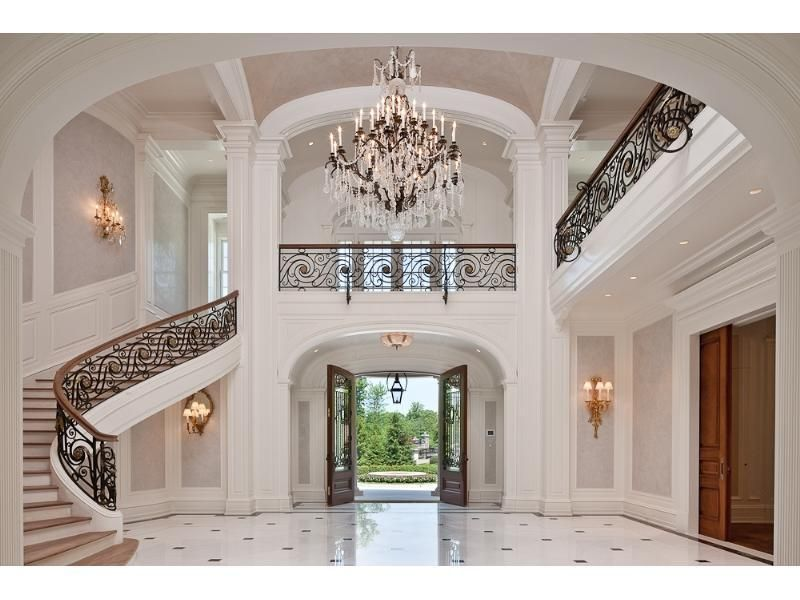 Luxury Home Foyer : Luxury foyers home profile an american masterpiece
