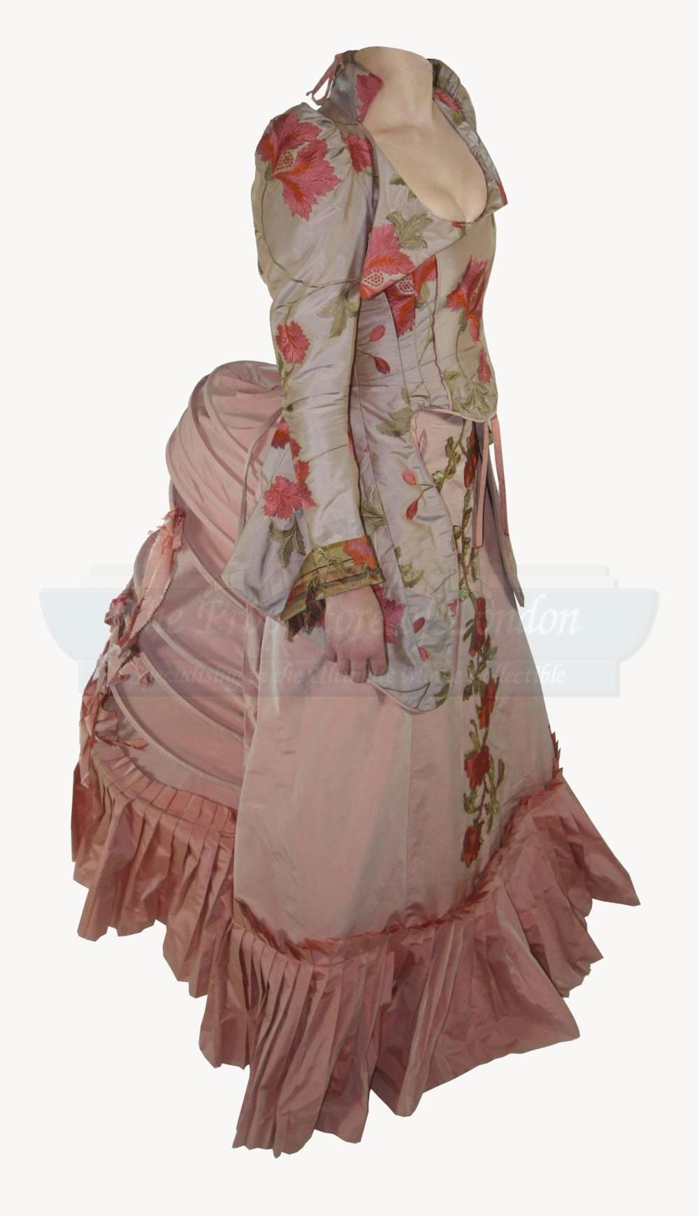 roses gown - secret of moonacre http://costumersguide.com/moonacre/propstore_pink1.jpg