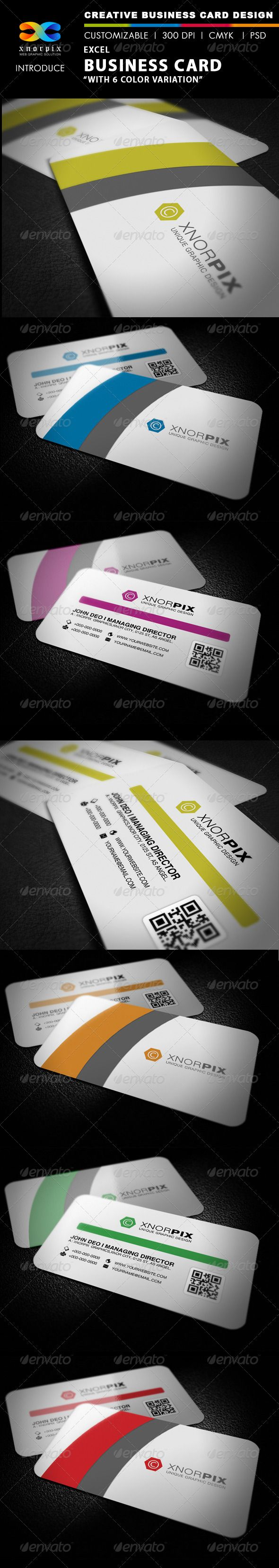 Excel business card business cards business and print templates excel business card reheart Image collections