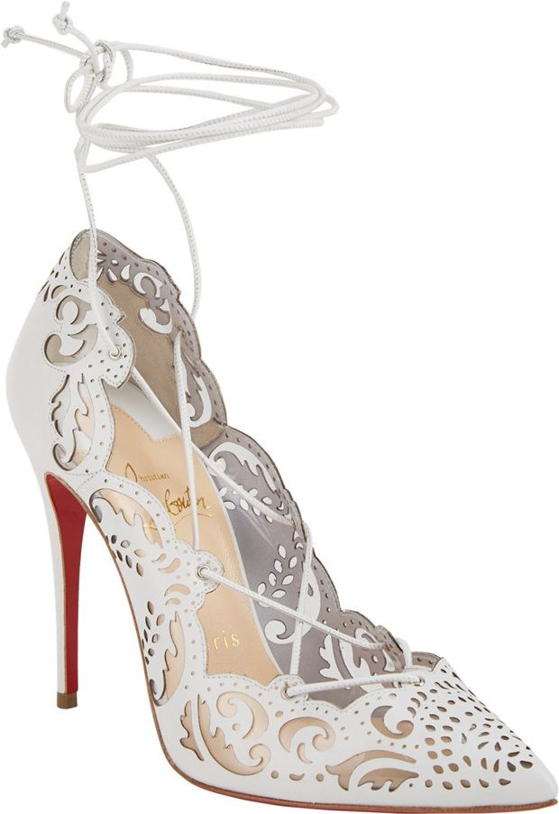 "separation shoes 0474a 8f4b1 Celebrities Love the Christian Louboutin ""Impera"" Lace-Up ..."