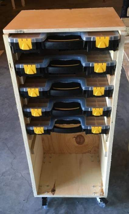 51+ Ideas for dewalt power tool storage