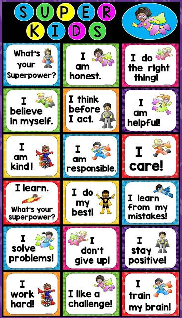 Free posters to celebrate positive character traits and encourage growth mindset!