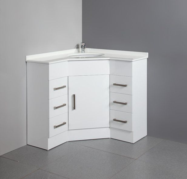 5239 Mdf Corner Bathroom Vanity 2011 Newest With Images Corner