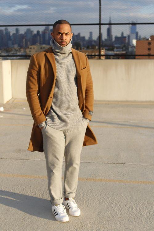 Let's go back to the 70's with this turtle neck sweater look... Vamos a los 70's con este look de cuello tortuga..