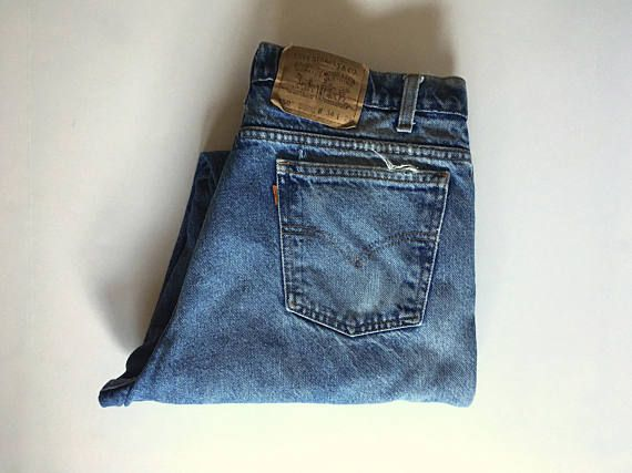 Vintage Men s 80 s Levi s 550 Jeans Relaxed Fit Denim W36 Relaxed ... d1f8be3c9c0