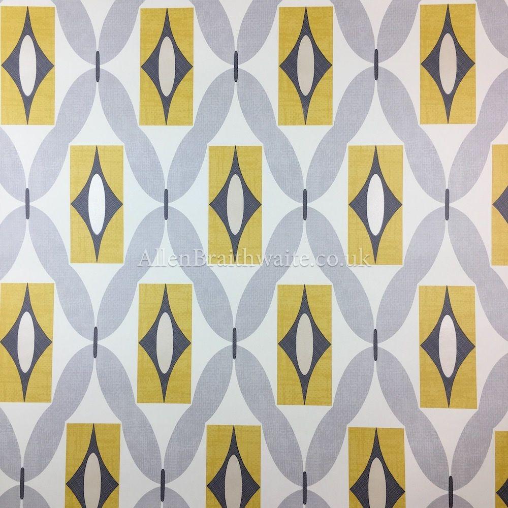 Arthouse Quartz Yellow Wallpaper   Geometric Wallpaper   Pinterest ...