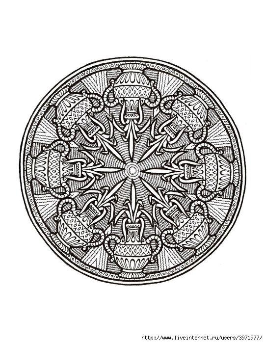 Mystical Mandala Coloring Book | Mandala coloring, Coloring books ...