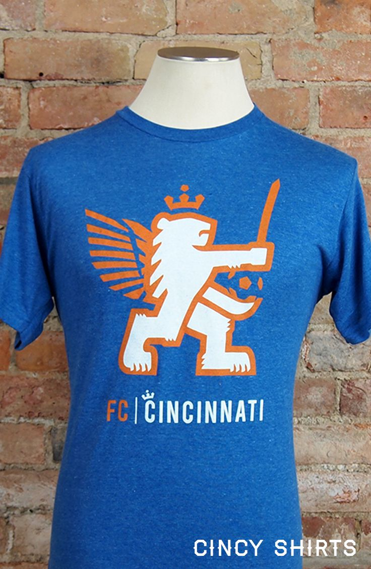 T shirt design on queen city - Celebrate The Newest Soccer Team In The Queen City Fc Cincinnati Has Been Embraced By