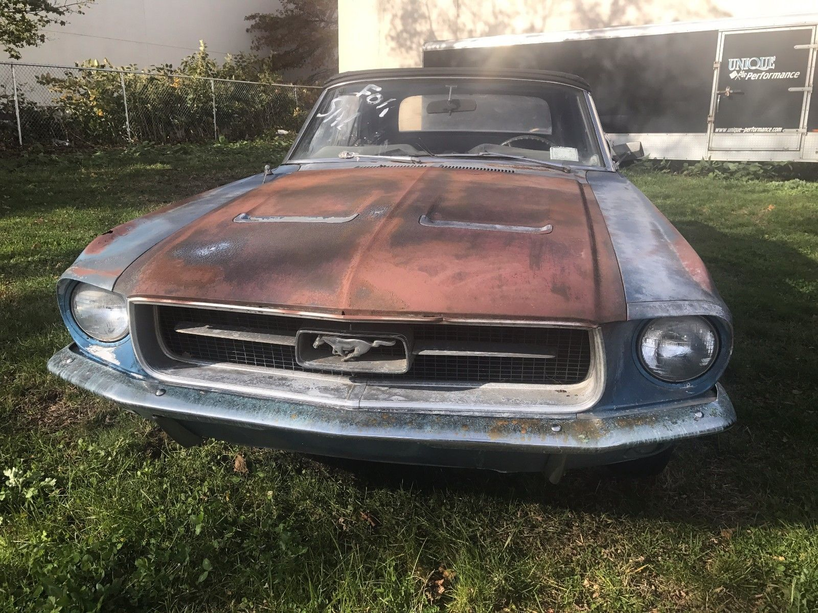 Ebay 1967 Ford Mustang Mustang C Code Convertible 1967 Ford