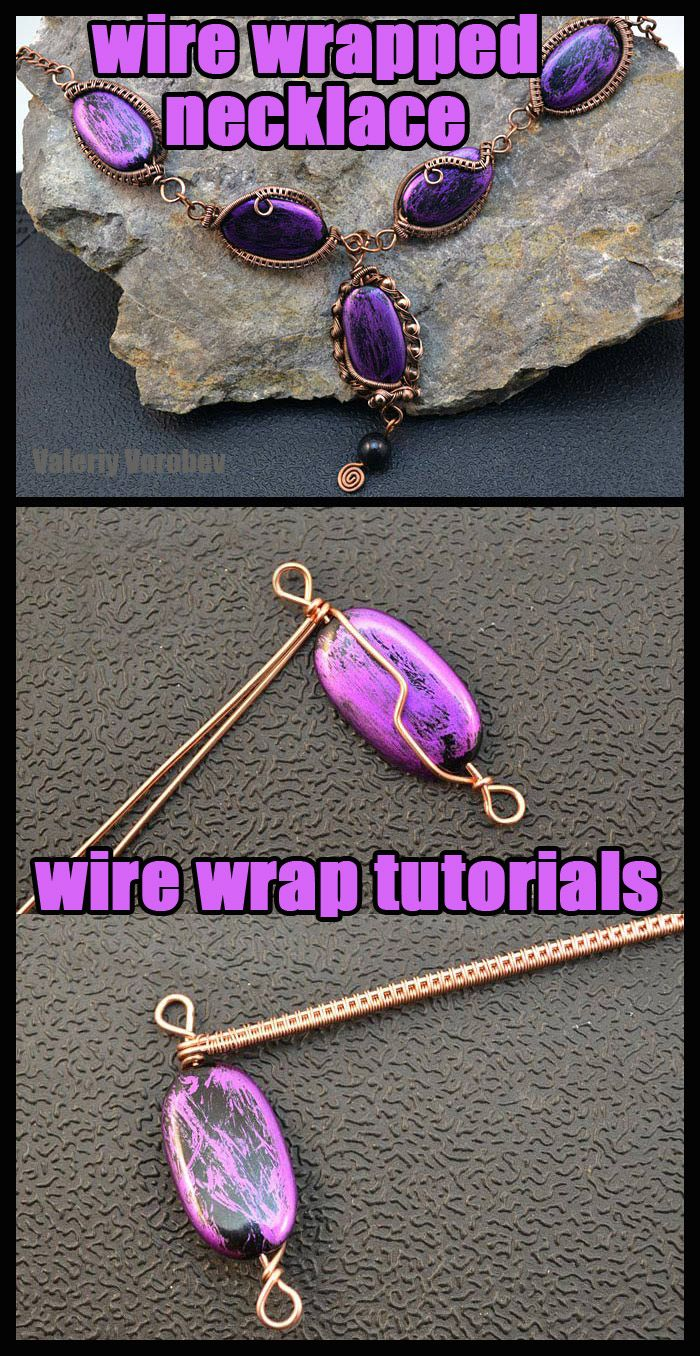 Photo of Wire wrapped necklace