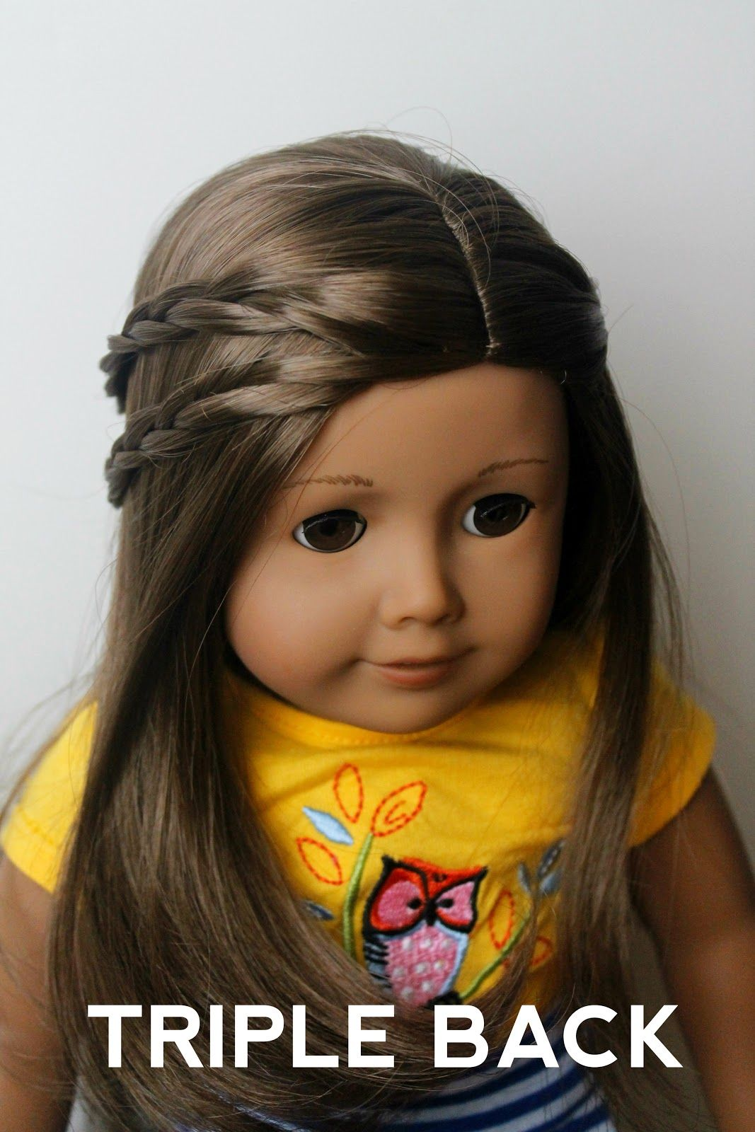 Long Hairstyles Pinned Back Bangs Doll Delight By The Spicys 3