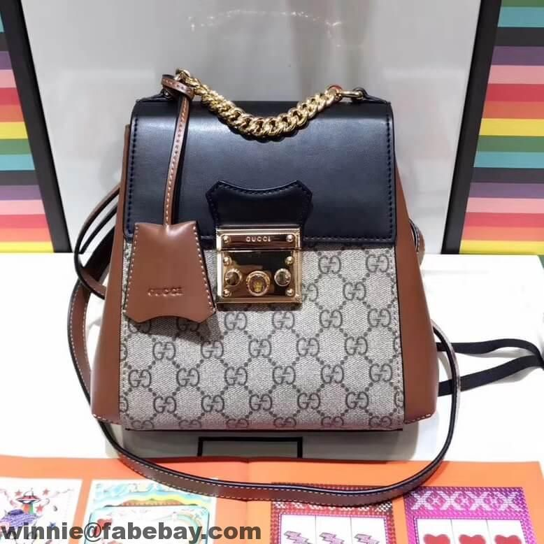 bfd0b7c6a197 Gucci Padlock GG Supreme Backpack 498194 2017 | Gucci in 2019 ...