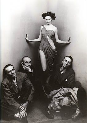 Ballet Society by Irving Penn, 1948 - Beauty Lies In The Eye: People In Vogue: A Century of Portraits - 1910s to 1950s