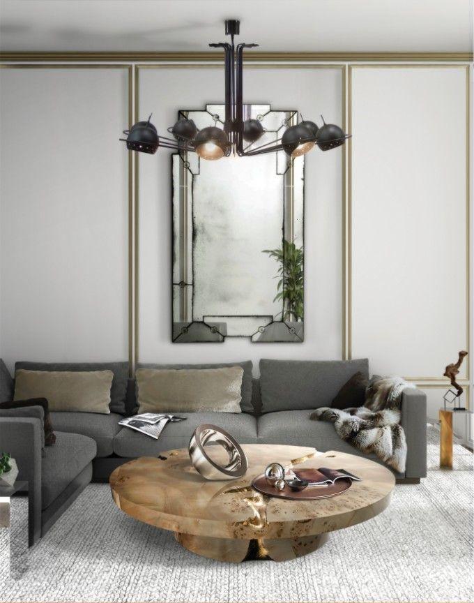 25 Messing Couchtische Tendenzen für den Herbst 2017 Luxus-möbel - design mobel eine dunkle gothik einrichtung